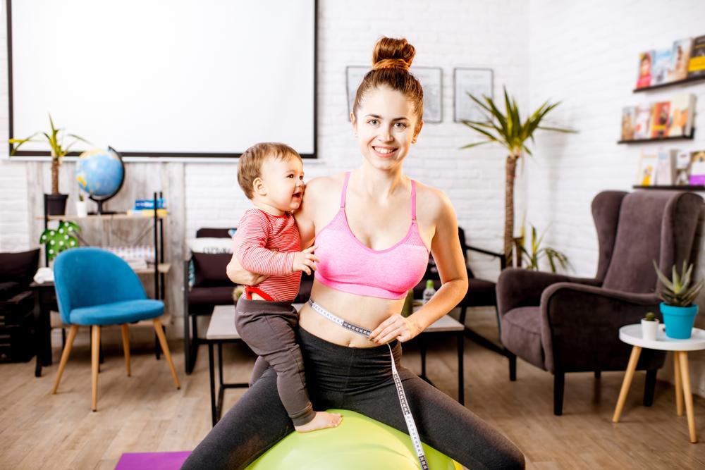 S intenzivním cvičením mohou maminky začít nejdříve půl roku po porodu.