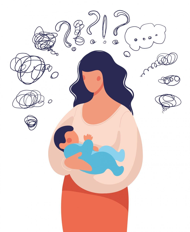 Popôrodná precitlivelosť spôsobená hormonálnou búrkou je vcelku vporiadku a prejde ňou viac než 80 % rodičiek.