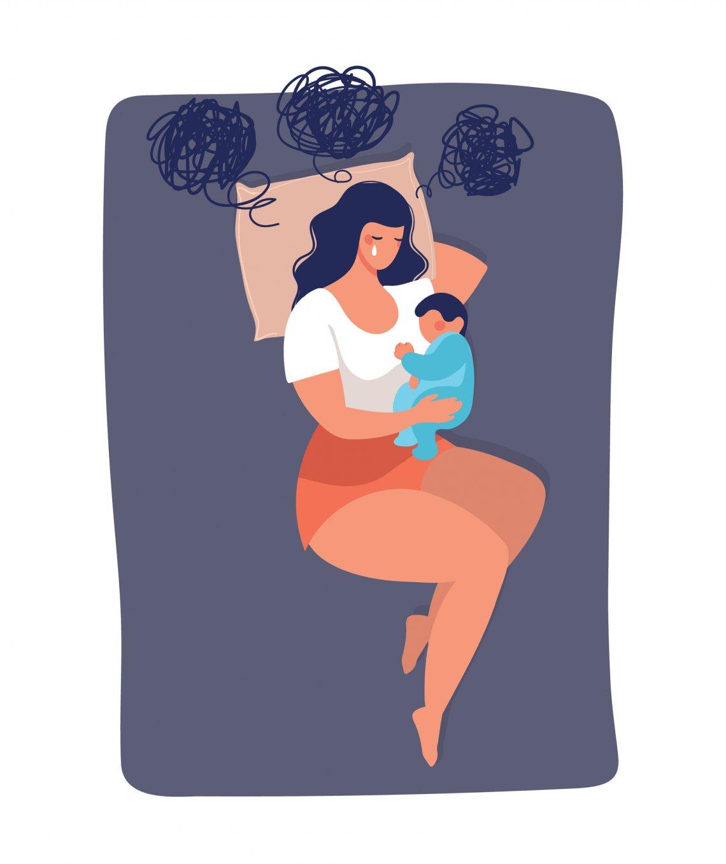 Predispozícia kpopôrodnej depresii je mnohokrát daná geneticky
